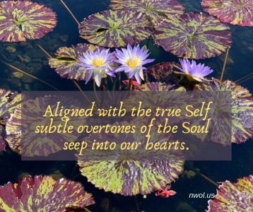 Aligned with the true Self