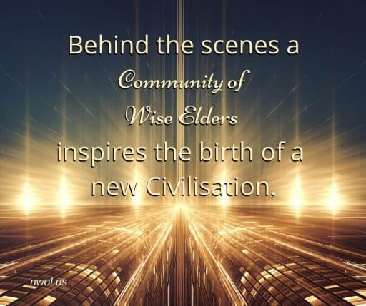 Behind the scenes, a Community of Wise Elders inspires the birth of a new civilisation.