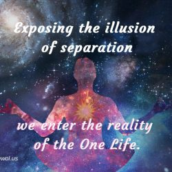 Exposing the illusion of separation