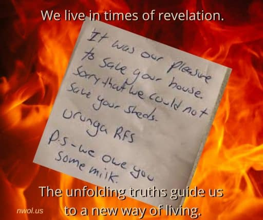 We live in times of revelation. The unfolding truths guide us to a new way of living.