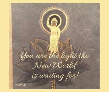 You are the light the New World is waiting for