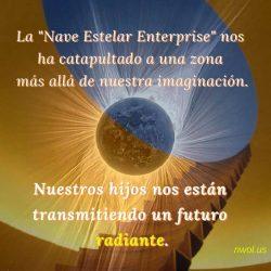 La Nave Estelar Enterprise nos