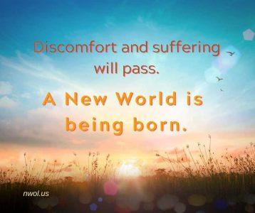Discomfort and suffering will pass