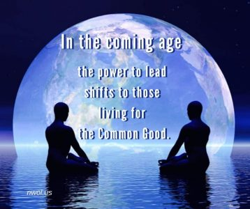In the coming age the power to lead shifts