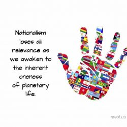 Nationalism loses all relevance