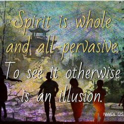 Spirit is whole and all-pervasive