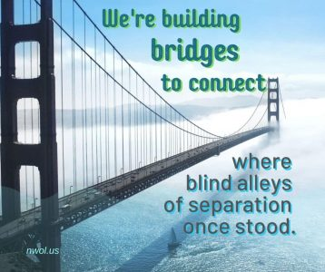 We are building bridges