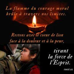 La flamme du courage moral