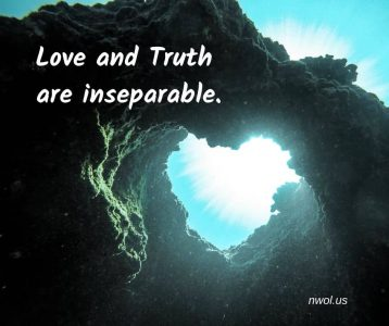 Truth n Love are inseparable