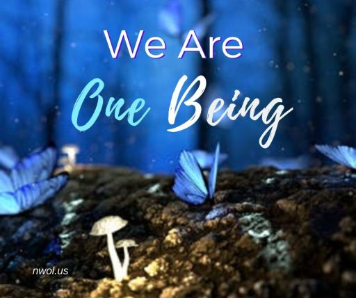 We are One Being.