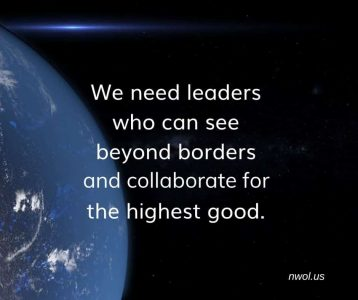 We need leaders who see beyond borders