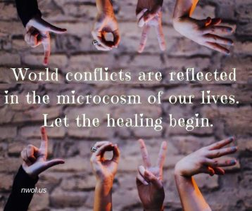 World conflicts are reflected in the microcosm