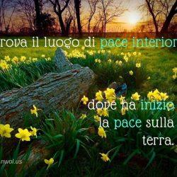 Trova il luogo di pace interiore