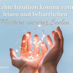 Echte Intuition kommt vom