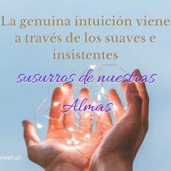 La genuina intuicion viene