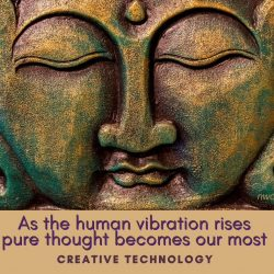As the human vibration rises