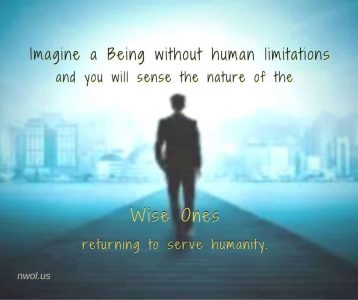 Imagine a Being without human limitations