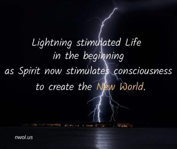 Lightning stimulated physical Life in the beginning