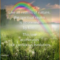 Like all realms of nature the spiritual realm
