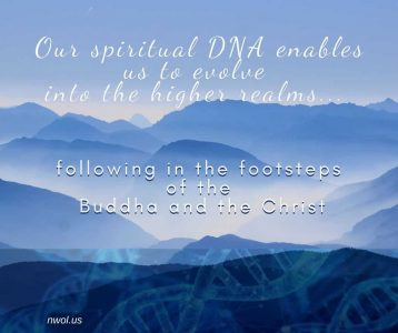 Our spiritual DNA enables us to evolve