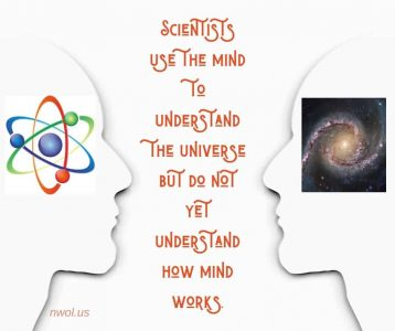Scientists use the mind to understand the universe