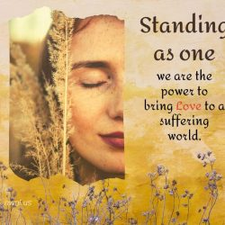 Standing as One we are the power