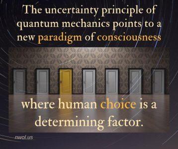 The uncertainty principle of quantum mechanics
