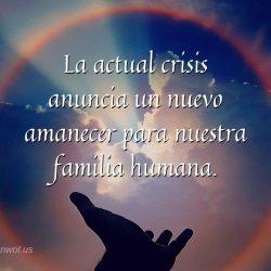 La actual crisis