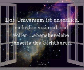Das Universum ist unendlich