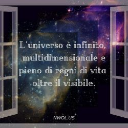 Luniverso e infinito