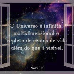 O Universo e infinito