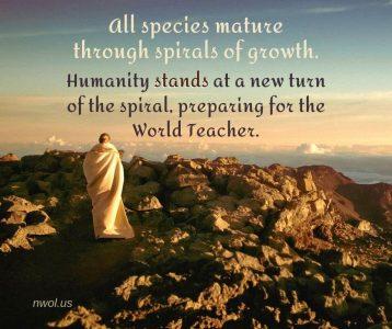 All species mature through spirals of growth