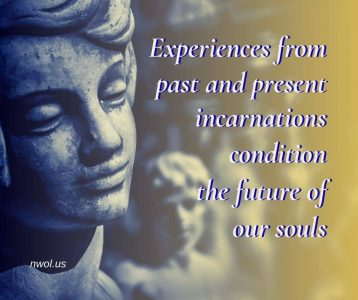 Experiences from past and present incarnations