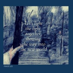 Let us light the light together