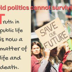 Old politics cannot survive