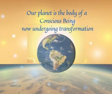 Our planet is the body of a Conscious Being