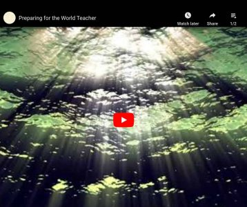 Preparing for the World Teacher