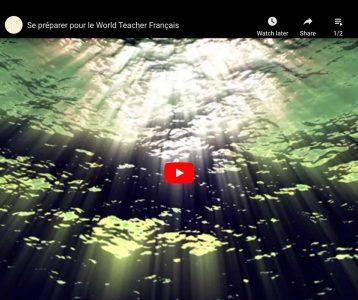 Se préparer pour le World Teacher