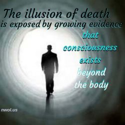 The illusion of death is exposed