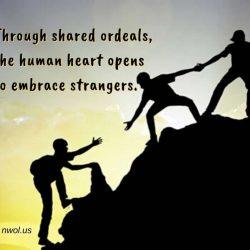 Through shared ordeals