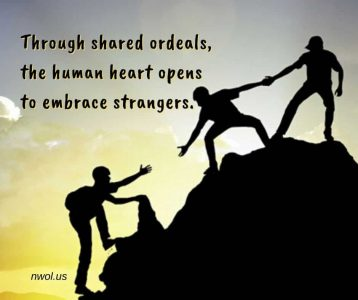 Through shared ordeals