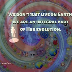 We do not just live on earth