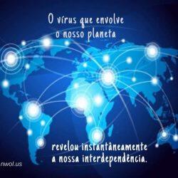 O virus que envolve