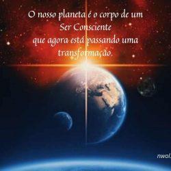O nosso planeta e o corpo de um