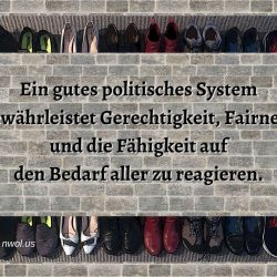Ein gutes politisches System