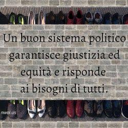 Un buon sistema politico