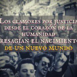 Los clamores por justicia