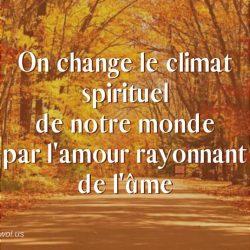 On change le climat