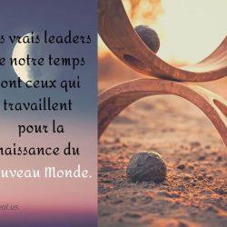 Les vrais leaders