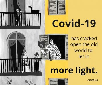 Covid-19 has cracked open the old world